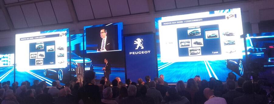 National Dealer Meeting @Motorshow 2016 - Evento PSA - Quasar Group