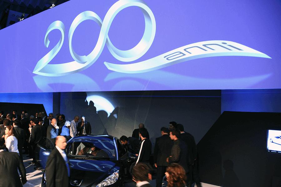 Celebrazione 200 anni Peugeot