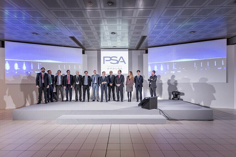 Kick Off - Evento PSA Groupe - Quasar Group