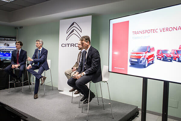 Transpotec 2017 - Evento Citroen-Peugeot - Quasar Group